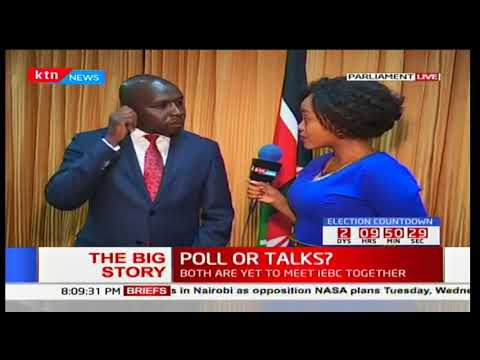President Uhuru Kenyatta honours invitation by IEBC Chairman Wafula Chebukati: The Big Story