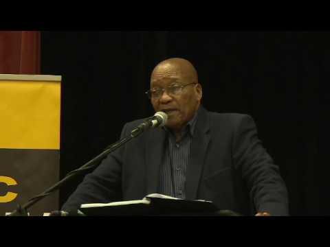 President Zuma delivers Mandela Day lecture