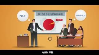 【视知资本论】20161221:为啥赚多少钱你都觉得交的税多?3分钟告诉你个税真相720P版