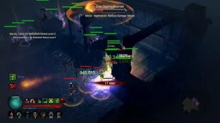 Diablo III Xbox One X Enhanced gameplay