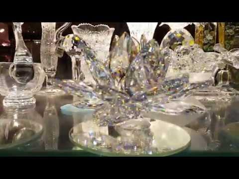 Bohemia Crystal in Prague city Czech Republic 26.08.2016