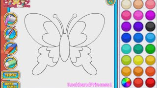 Butterfly Coloring Games