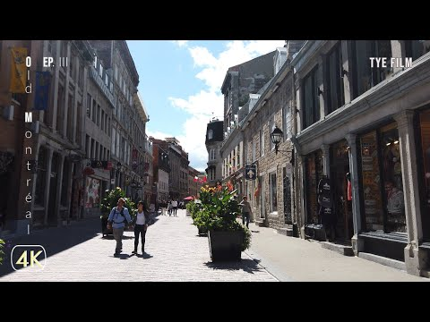 ⁴ᴷ⁶⁰ Old Montreal