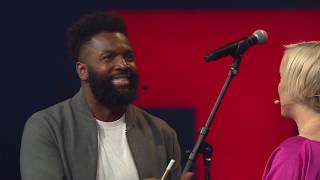 Baratunde answers surprise question after his TED Talk