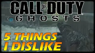 5 Things We Hate about Call Of Duty Ghosts (COD Ghosts)
