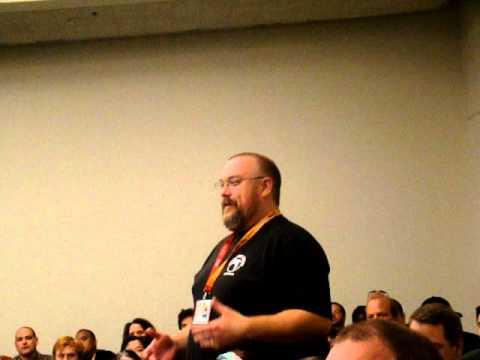 Chew Panel at San Diego Comic Con 2012: Israel Skelton of Skelton Crew Studios Loves Chew