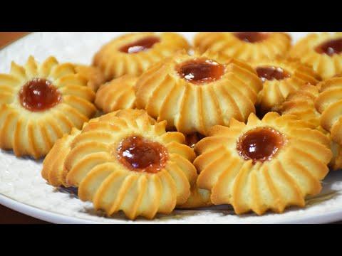 Как приготовить печенье в домашних условиях курабье