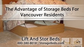 Lift & Stor Beds; Storage Beds For Vancouver Residents