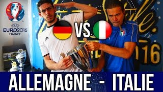 ALLEMAGNE - ITALIE ! Battle Freestyle de Supporters (EURO 2016)