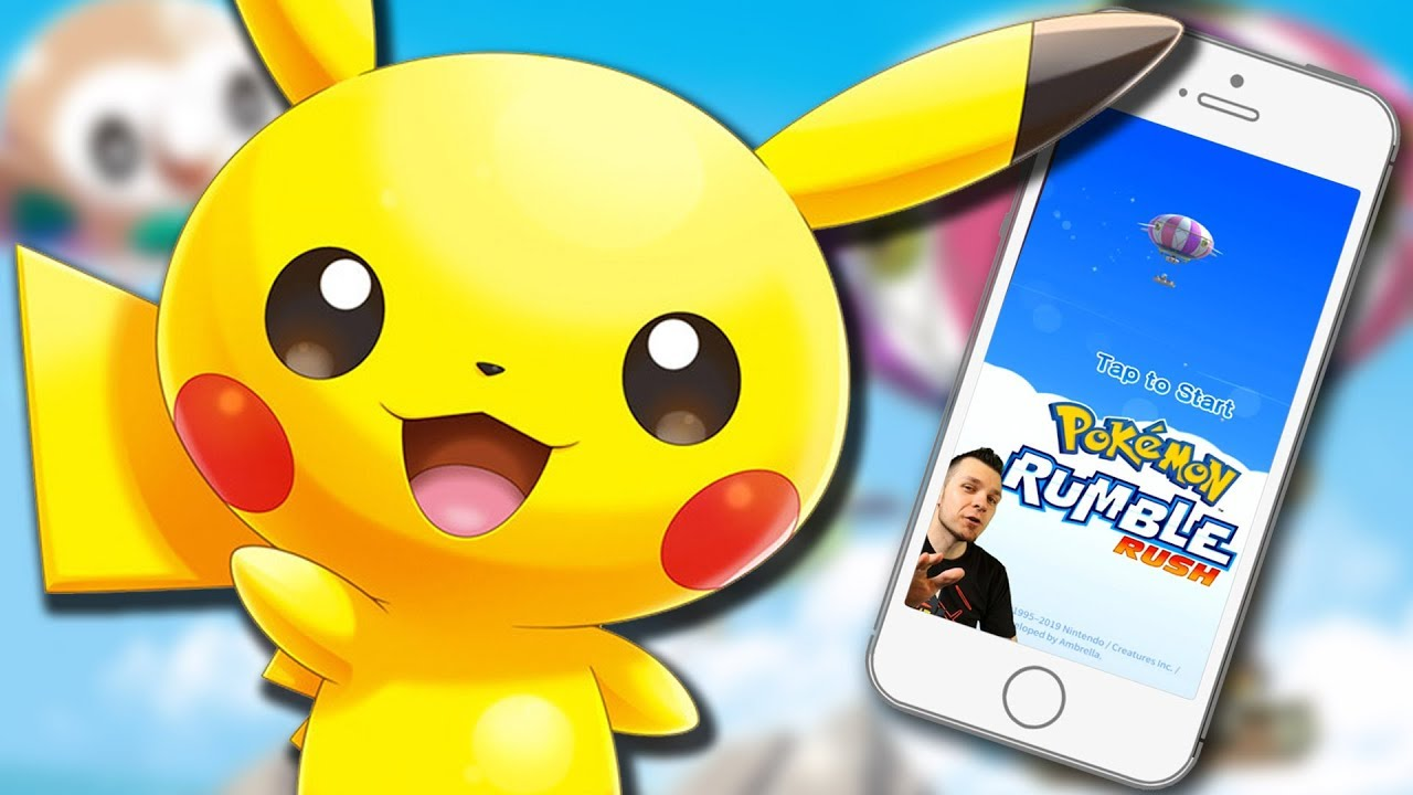 Pokemon Rumble Rush – Gameplay 100% Walkthrough Part 1: FREE Mobile Game! (Android & IOS)  #Smartphone #Android