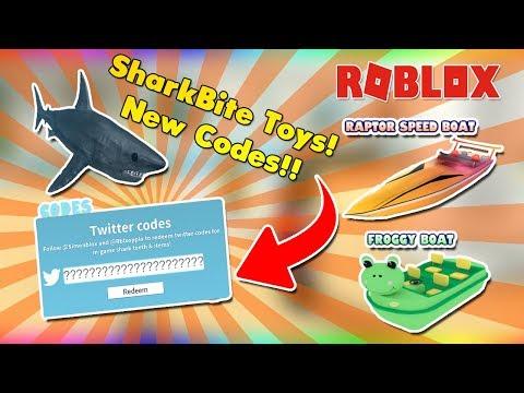 roblox sharkbite duck boat toy code