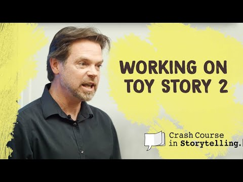 Colin Brady: Working on Toy Story 2 | Crash Course in Storytelling