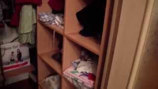 видео гардеробная в спальне
