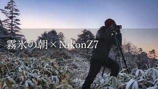 【風景写真】NikonZ7で撮る霧氷の朝・初冬の志賀高原を満喫
