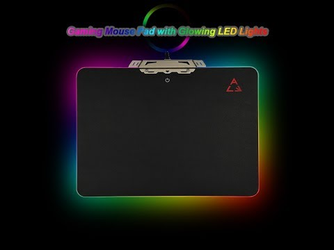 Cheap Rgb Led Mouse Pad Unboxing