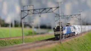 Nゲージ 太平洋セメント白ホキ貨物列車 実車音付き!
