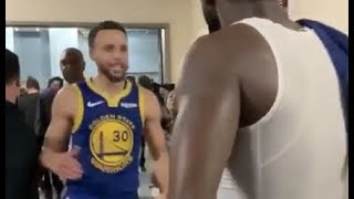 Stephen Curry Responds After Chris Paul Kicked Him Off Practice Court