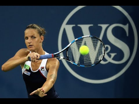 2017 Western & Southern Open Quarterfinals   Karolina Pliskova vs Camila Giorgi   WTA Highlights