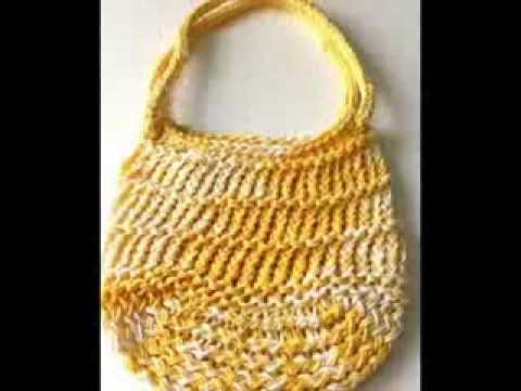 Loom Knit Bags By Sparkleknit Youtube