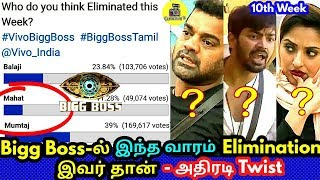 10th Week! Vijay TV! Bigg Boss Tamil
