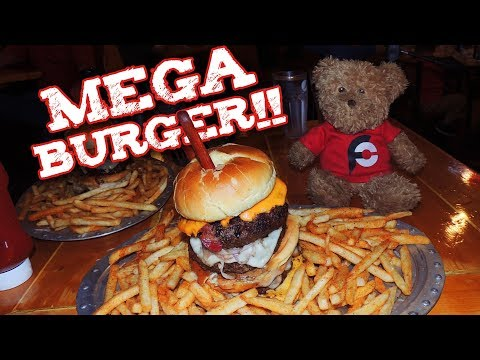 MEGA BURGER CHALLENGE IN MISSOURI!!