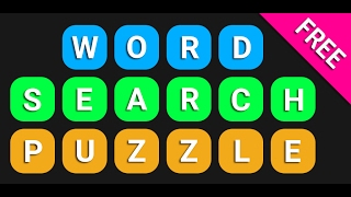 Word Search Puzzle - Free (Game play video)