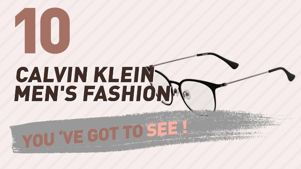 64fbc0aff3 Calvin Klein Glasses For Men    New   Popular 2017 - YouTube