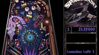 SpaceCadet/Full Tilt! 3D Pinball   Score of 21135000!