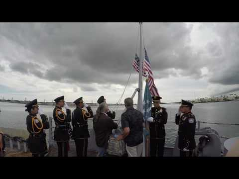 L.O.V.E. Flag Ceremony Hawaii