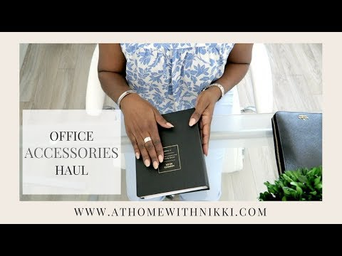 OFFICE ACCESSORIES | UNIQUE OFFICE SUPPLIES HAUL 2017