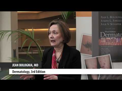 """Dr. Jean Bolognia discusses dermatology and her book, """"Dermatology: 2-Volume Set, 3rd Edition."""""""