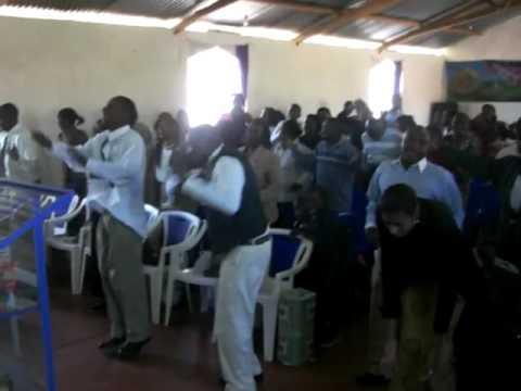 Church service Kenya Africa