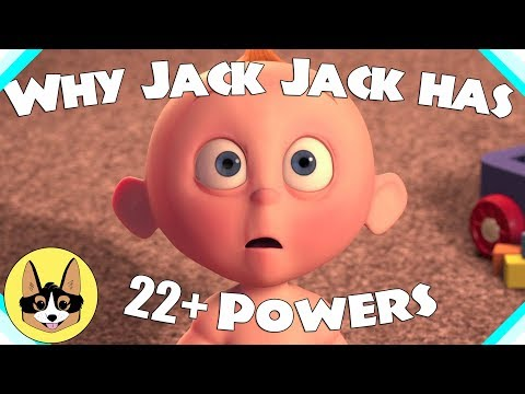 Why Jack Jack has 17 (really 22+) Powers!  |  Disney Pixar Incredibles 2 Theory