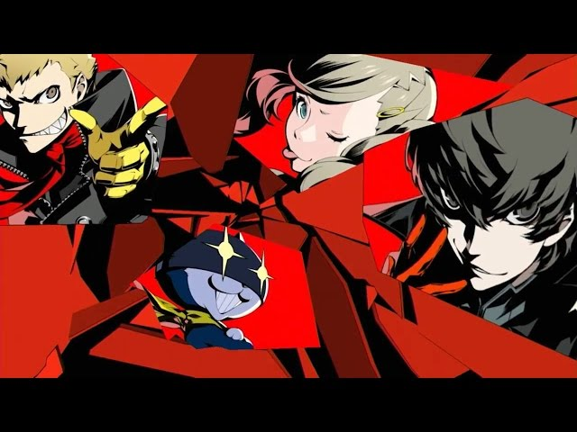 Persona 5 Official Japanese Release Date Trailer