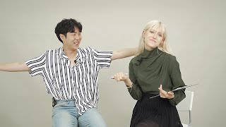 When Korean Guy meet American Model for the first time