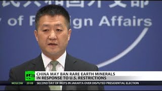 Tech, military to be hit by Chinas minerals ban to US