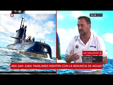 Ara San Juan: Familiares insisten con la renuncia de Aguad