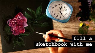 Getting Out of the Art Funk · Fill a Sketchbook With Me! #6