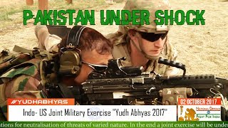 Yudh Abhyas 2017: Indo- US Military Exercise Sends Shock Waves to Pakistan