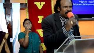 Tamil Christian Song - El-Shaddai Ministries Singapore - Sunday Worship Service
