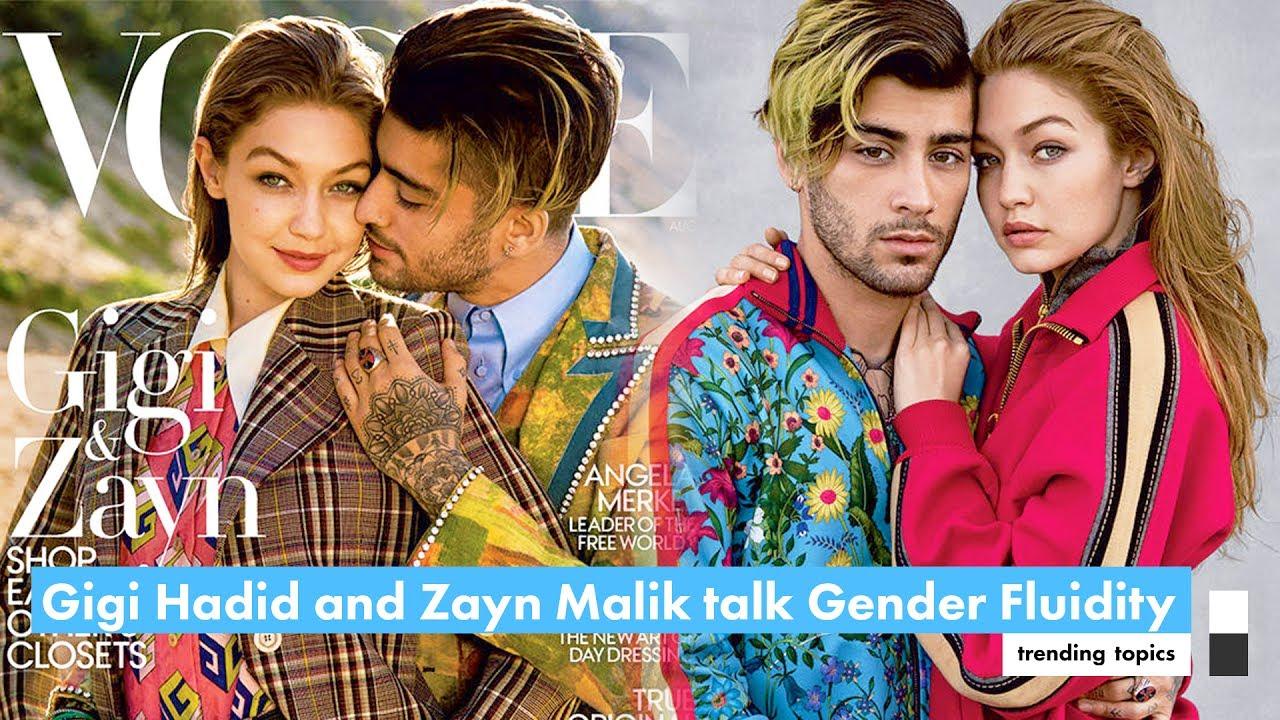 Gigi Hadid and Zayn Malik talk Gender Fluidity in Vogue ...