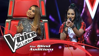 Roja Sivakumar - Rowdy Baby | Blind Auditions | The Voice Sri Lanka Thumbnail