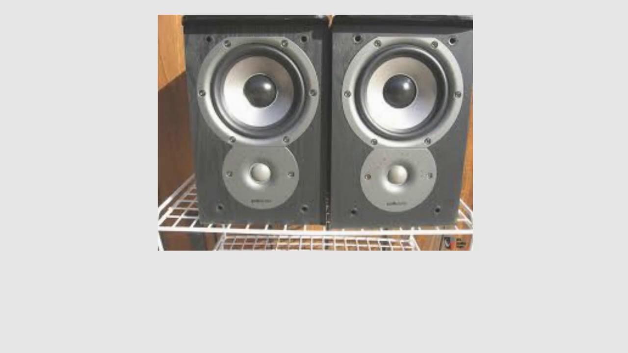 Pair, Cherry Polk Audio TSi100 Bookshelf Speakers