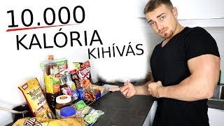 10.000 KALÓRIÁS KIHÍVÁS   10k kalória másfél óra alatt
