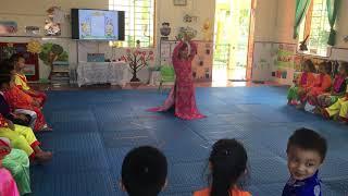 Tiết dạy âm nhạc 5-6 tuổi lớp A2 Trường mầm non Phú Lương lấy trẻ làm trung tâm