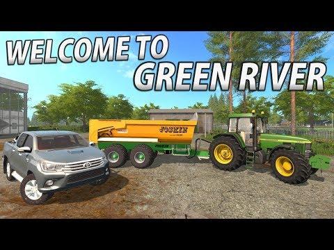 WELCOME TO GREENRIVER 2017 | Farming Simulator 17 - Episode 1