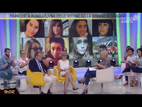 Francesca Bonello, una delle vittime della strage in Spagna