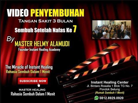 Helmy Alamudi (0812.8929.0920) Sembuh 1 Menit, sakit tangan 3 bulan, Medan