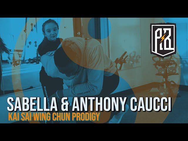 Kai Sai Wing Chun Kung Fu prodigy Sabella Caucci teaches Giannis, Thanasis & Alex some of her moves!