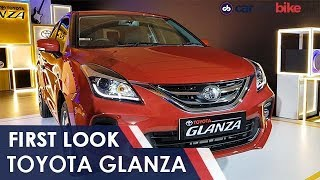 First Look Toyota Glanza | NDTV carandbike